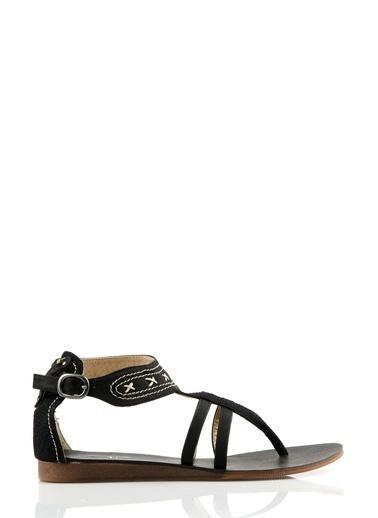 Asymmetry Sandalet Siyah